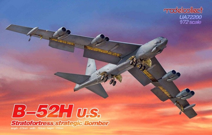 1/72 Boeing B-52H Stratofortress strategic Bomber