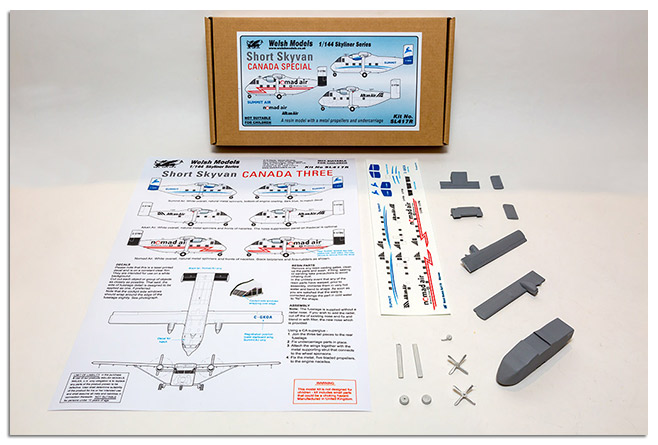 1/144 Tri kit of the Shorts Skyvan series