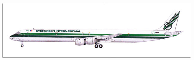 1/144 Douglas DC-8-73CF CFM56-2B4 engines