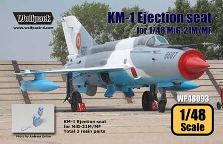 1/48 KM-1 Ejection seat for MiG-21M/MF
