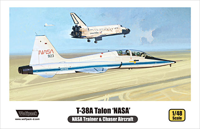1/48 Northrop T-38A Talon NASA