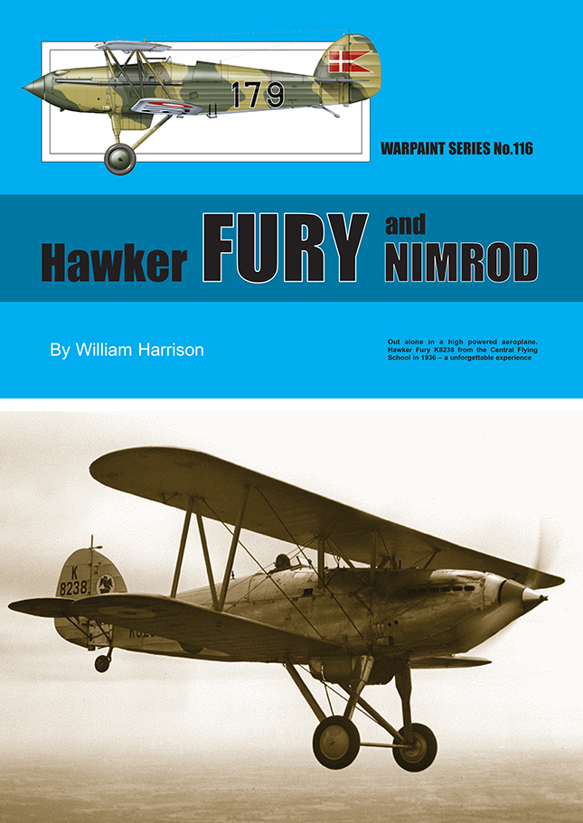 Hawker Fury and Nimrod Author: William Harrison