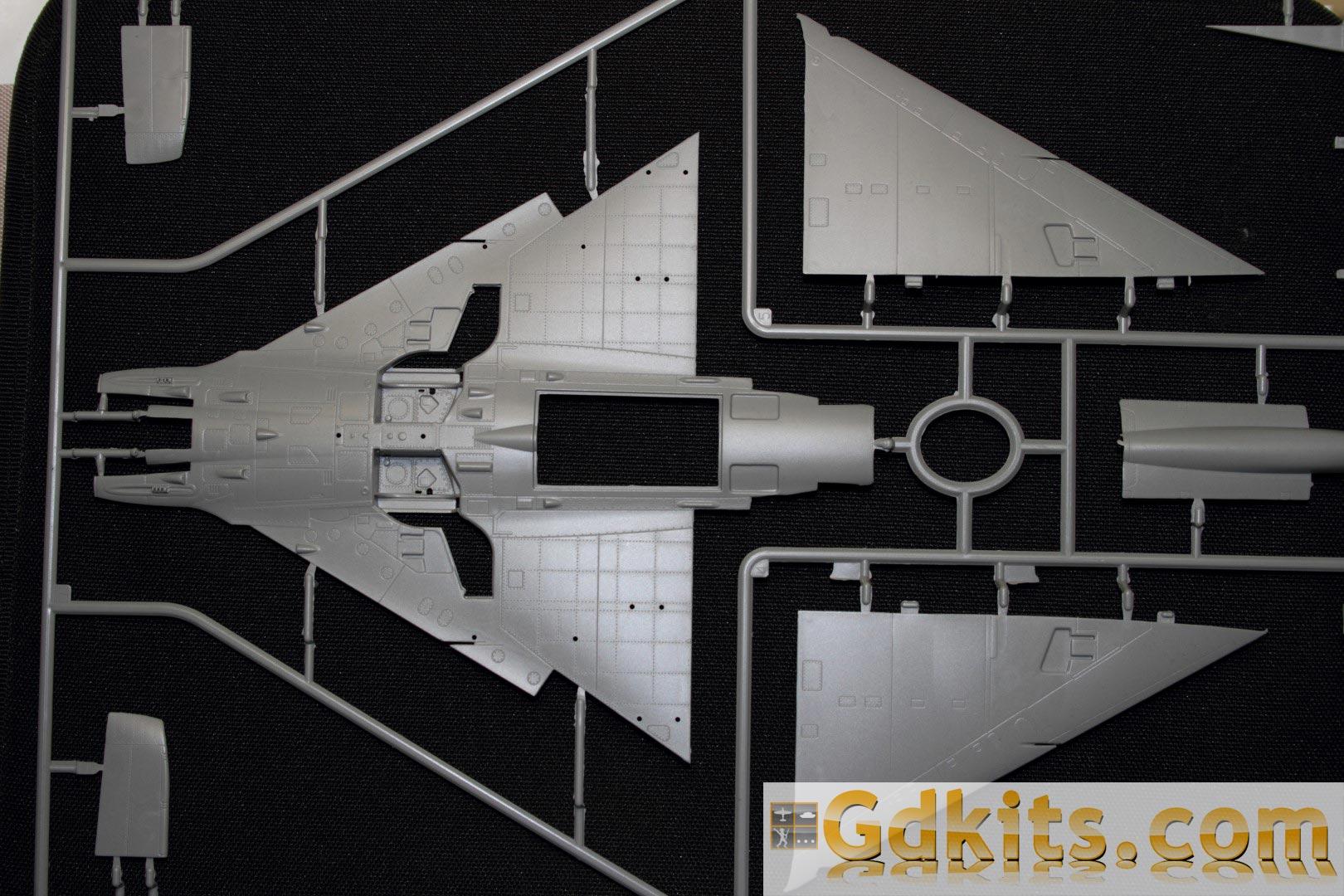 News gdkits : Mirage III E/R... S/RS au 1/48 - Kinetic Gdkits_mirage_01