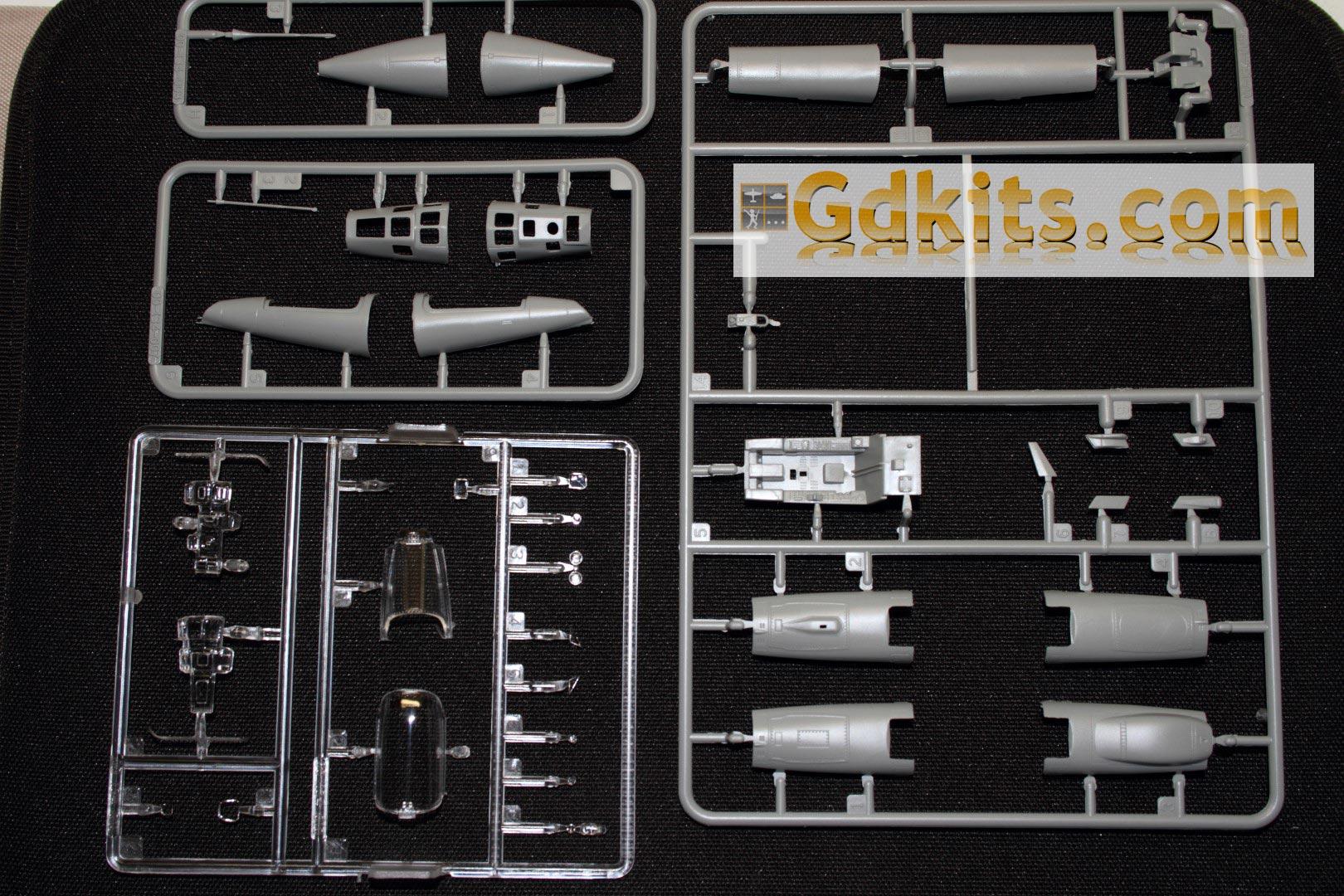News gdkits : Mirage III E/R... S/RS au 1/48 - Kinetic Gdkits_mirage_10